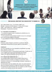 Programme formation Sport Connect Lyon - Se démarquer avec son identité visuelle