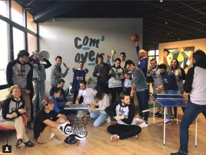 Com'Over Lab, le lieu de co-working dédié au sport et à l'entertainement à Lyon