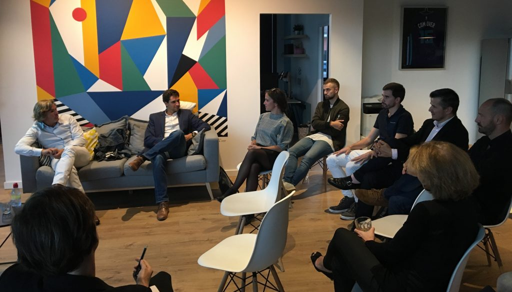 Manuel Biota à la rencontre des membres lors de la Masterclass Sport Connect Lyon