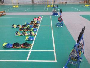 Test chaussures et raquettes Babolat pour le badminton